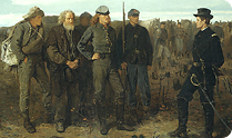 Prisoners from the Front, Winslow Homer, 1866