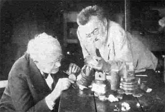 Thomas Edison and Charles Steinmetz