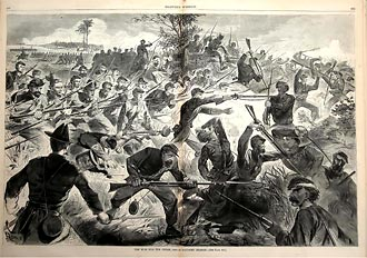 War for the Union - Bayonet Charge, Winslow Homer, 1862