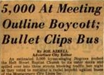 5  Boycotting, in PROTEST, The Making of African American