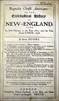 puritan new england essays on religion society and culture New england puritan culture and recreation the puritan culture of the new england colonies of the seventeenth century was influenced by calvinist theology, which believed in a just, almighty god [1] and a lifestyle that consisted of pious, consecrated actions.