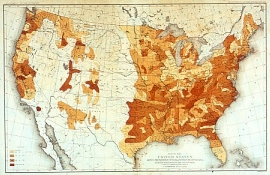 Sargents Discussion History With Fire In Its Eye An - Us map 1884