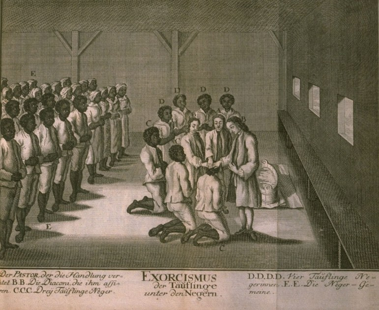christianity through the eyes of a slave The view of humanity that allowed for slavery is difficult to understand in our time   in the west indies, who were given an opportunity to become christians.
