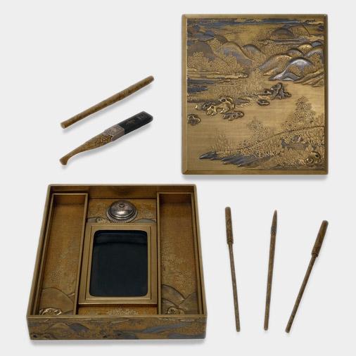 Edo calligraphy set