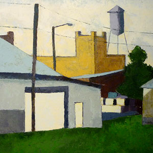 """Anthony Ulinski, """"Imperial Centre from the west"""""""