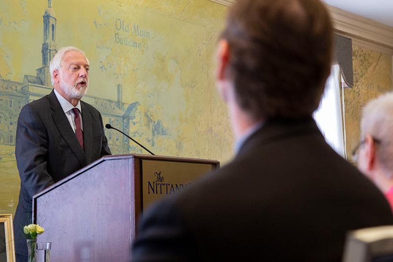 Robert D. Newman at Penn State Humanities Institute