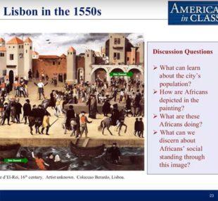 British North American slavery