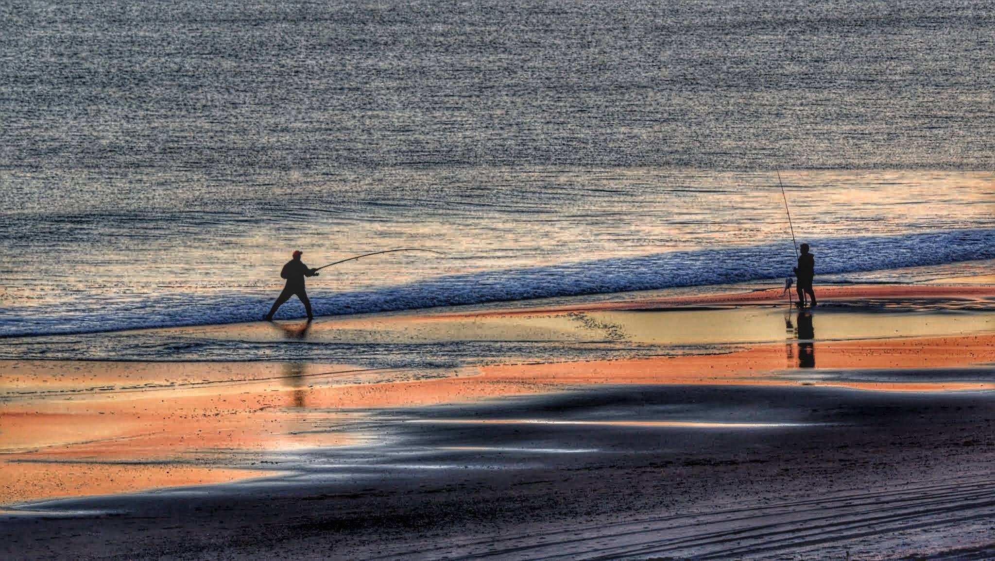Surf Casting, Emerald Isle, NC