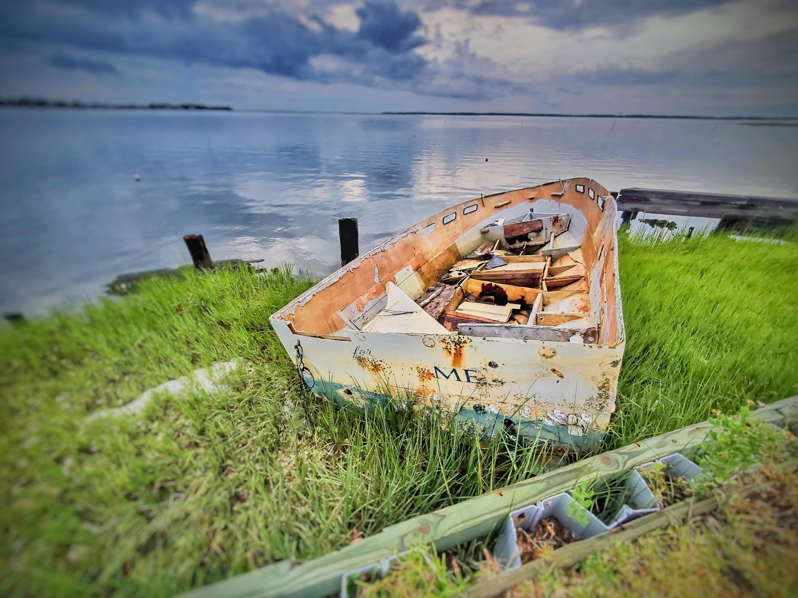 Abandoned Ship, Harkers Island, NC