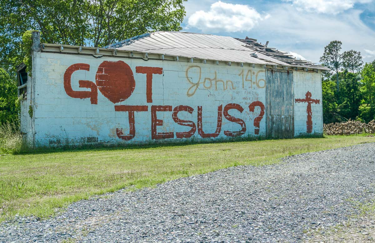 Got Jesus?, Randolph County, NC