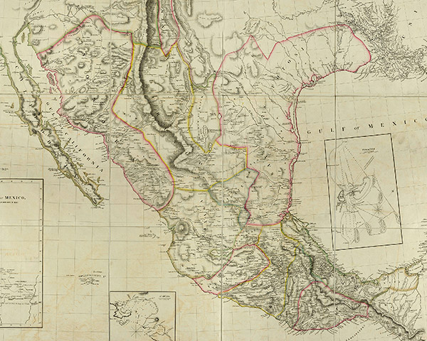 Regions in Mexico, 1810