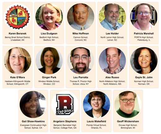 2016 Teacher Advisory Council Members