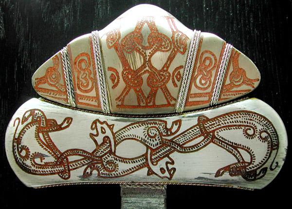Viking sword pommel